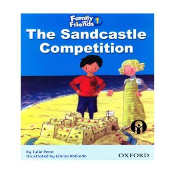 کتاب The Sandcastle Competition اثر جمعی از نویسندگان انتشارات الوندپویان