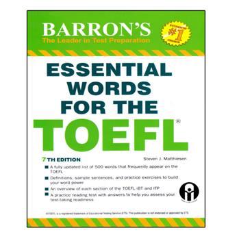 کتاب Essential Words For TOEFL اثر Steven J. Matthiesen انتشارات الوندپویان