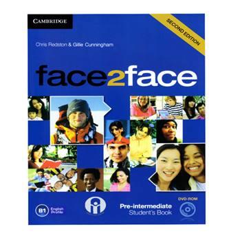 کتاب Face2Face Pre-Intermediate B1 اثر Chris Redston And Gillie Cunningham انتشارات الوندپویان
