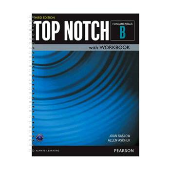 کتاب Top Notch Fundamentals B اثر Joan Saslow And Allen Ascher انتشارات سپاهان