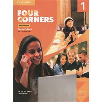 کتاب Four Corners 1 اثر JACK C.RICHARDS AND DAVID BOHLKE انتشارات اشتیاق نور