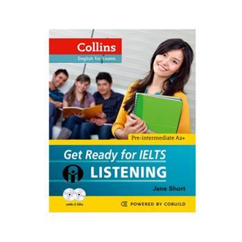 کتاب Get Ready for IELTS LISTENING اثر Jane Short انتشارات الوند پویان