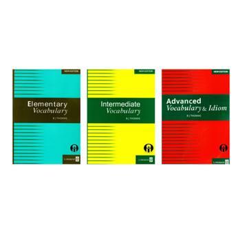 کتاب Vocabulary اثر B J Thomas انتشارات الوندپویان سه جلدی