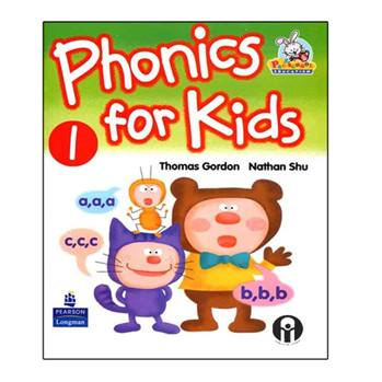 کتاب Phonics For Kids 1 اثر Thomas Gordon And Nathan Shu انتشارات الوندپویان