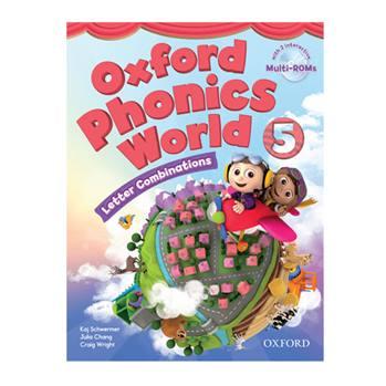کتاب Oxford Phonics World 5 اثر جمعی از نویسندگان انتشارات Oxford