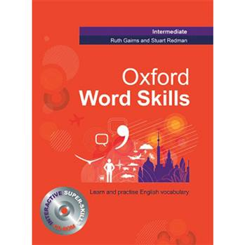 کتاب Oxford word skills Intermediate اثر Ruth Gairns and Stuart Redman انتشارات Oxford
