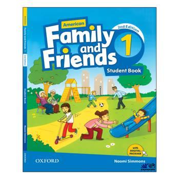 کتاب AMERICAN FAMILY AND FRIENDS 1 اثر NAOMI SIMMONS انتشارات رهنما