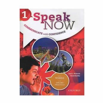 کتاب SPEAK NOW 1 اثر David Bohlke and Jack C. Richards انتشارات OXFORD