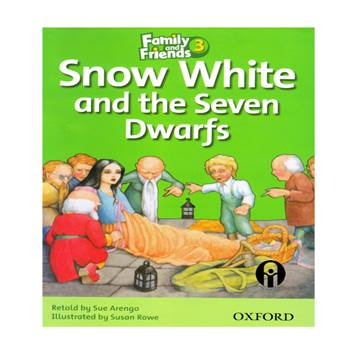کتاب Snow White and the Seven Dwarfs اثر Retold and Sue Arengo انتشارات الوندپویان