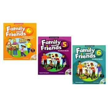 کتاب Family and Friends اثر Naomi Simmons انتشارات الوندپویان جلد 4 تا 6