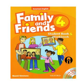 کتاب Family and Friends 4 اثر Naomi Simmons انتشارات الوندپویان