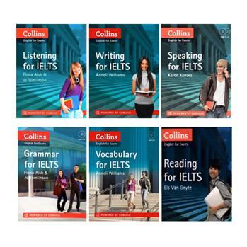 کتاب Collins English For Exams اثر جمعی از نویسندگان انتشارات Cobuild شش جلدی
