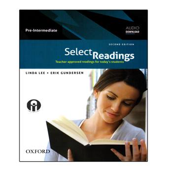 کتاب Select Readings Pre-Intermediate اثر Linda Lee And Erik Gundersen انتشارات الوندپویان