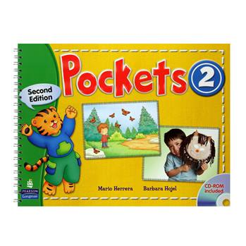 کتاب Pockets 2 اثر Mario Herrera And Barbara Hojel انتشارات Pearson