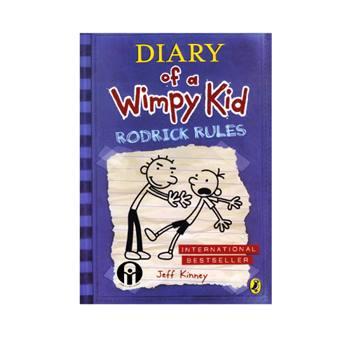 کتاب Diary of a Wimpy Kid Rodrick Rules اثر Jeff Kinney انتشارات الوندپویان