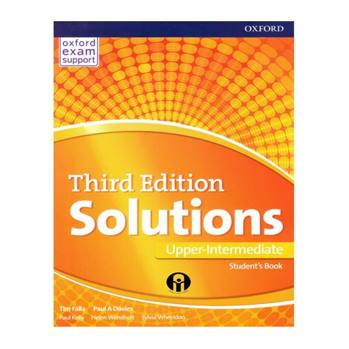 کتاب Solutions Upper-Intermediate Third Edition اثر Tim Falla And Paul A Davies انتشارات الوندپویان
