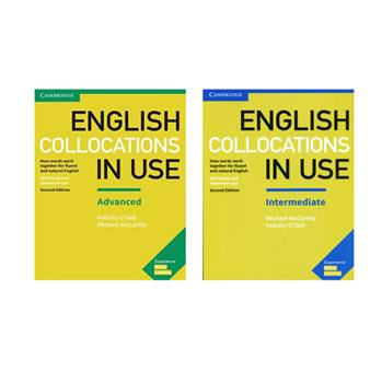کتاب English Collocations In Use Intermediate اثر Felicity O Dell And Michael Mccarty انتشارات Cambridge