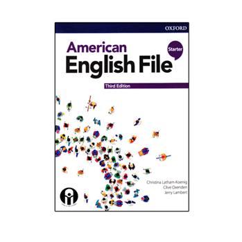 کتاب American English File Starter Third Edition اثر جمعی از نویسندگان انتشارات الوند پویان