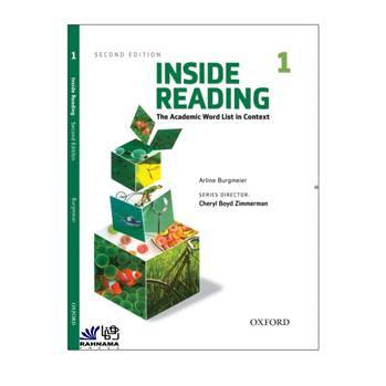 کتاب INSIDE READING 1 اثر cheryl boyd zimmerman انتشارات رهنما