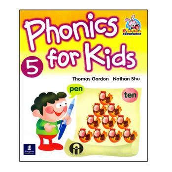 کتاب Phonics For Kids 5 اثر Thomas Gordon And Nathan Shu انتشارات الوندپویان
