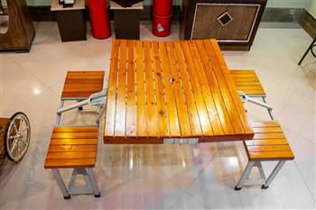 میز و صندلی سفری تمام چوب
