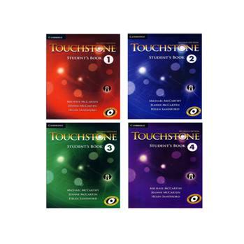 کتاب Touchstone اثر جمعی از نویسندگان انتشارات الوندپویان چهار جلدی