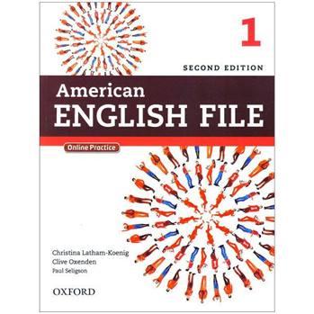 کتاب American English File 1 اثر جمعی از نویسندگان انتشارات oxford university press