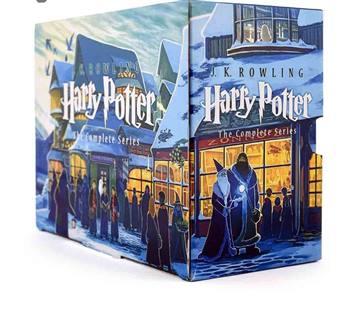 کتاب Harry Potter اثر J. K. Rowling انتشارات جنگل 7 جلدی
