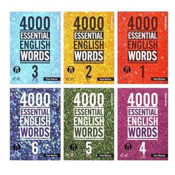 کتاب 4000Essential English Words اثر Paul Nation انتشارات الوندپویان شش جلدی