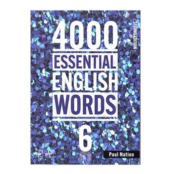 کتاب 4000Essential English Words 6 اثر Paul Nation انتشارات Compas Publishing