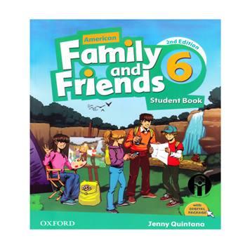 کتاب Family and Friends 6 اثر Jenny Quintana انتشارات الوندپویان