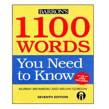 کتاب 1100Words You Need To Know اثر Murray Bromberg And Melvin Gordon انتشارات الوندپویان
