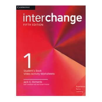 کتاب Interchange 1 اثر جمعی از نویسندگان انتشارات Cambridge