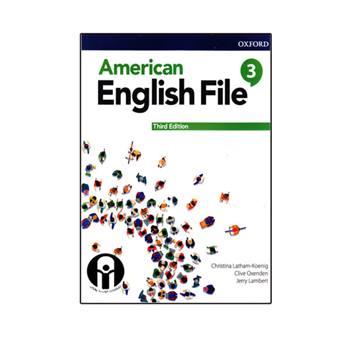 کتاب American English File 3 Third Edition اثر جمعی از نویسندگان انتشارات الوند پویان