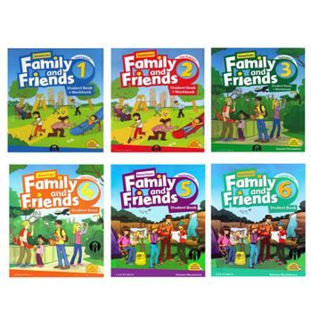 کتاب Family and Friends Second Edition اثر اثر جعی از نویسندگان انتشارات الوندپویان 6 جلدی