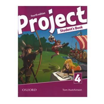 کتاب Project 4 اثر Tom Hutchinson انتشارات Oxford