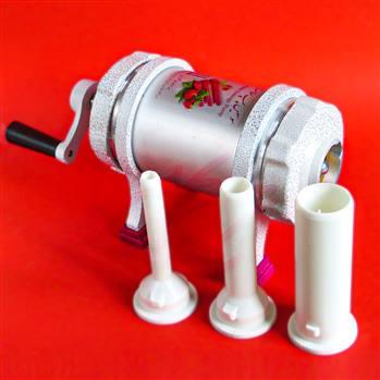 دستگاه سوسیس ساز فلزی سلامت (بدنه آلمینومی حجم 1.7 کیلویی)