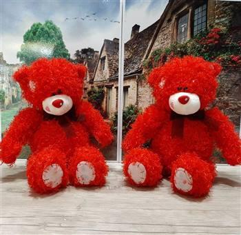 عروسک خرس میتیو قرمز فری