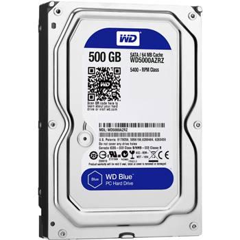 هارد دیسک 500 گیگ وسترن دیجیتال آبی آکبند