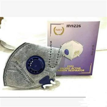 پک 10عددی ماسک N95 وارداتی اورجینال 6لایه فیلتر سیلیکونی کربن اکتیو
