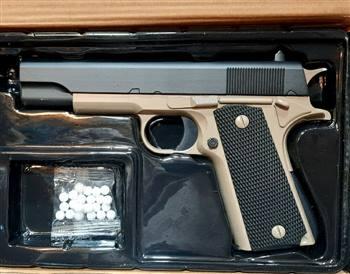 تفنگ یا کلت فلزی ایرسافت مدل V11